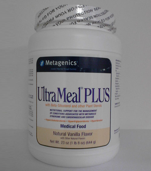 MetagenicsUltraMeal® PLUS Natural Vanilla