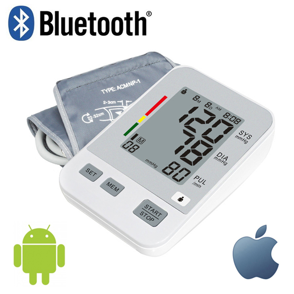 Blue Tooth Digital Blood Pressure Monitor